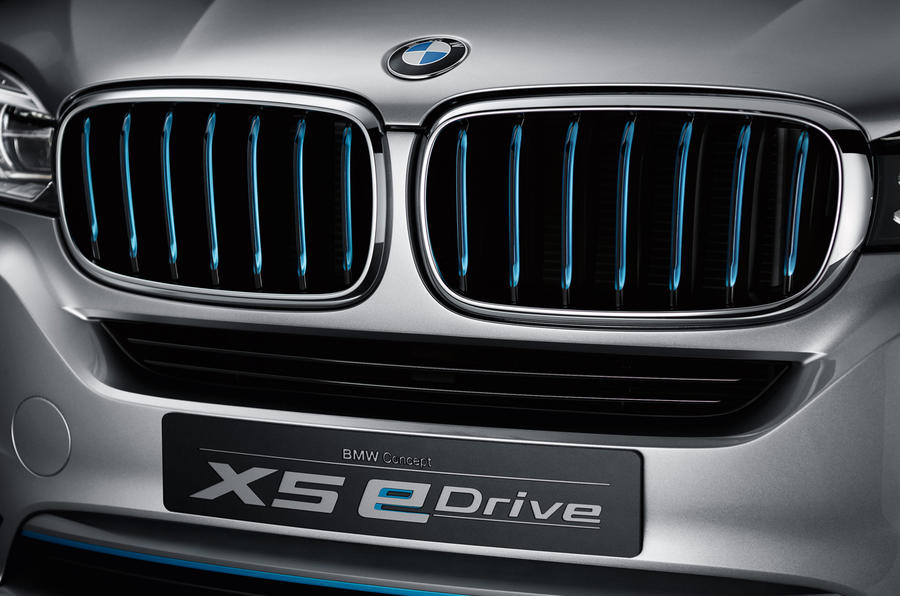 BMW Concept X5 eDrive unveiled