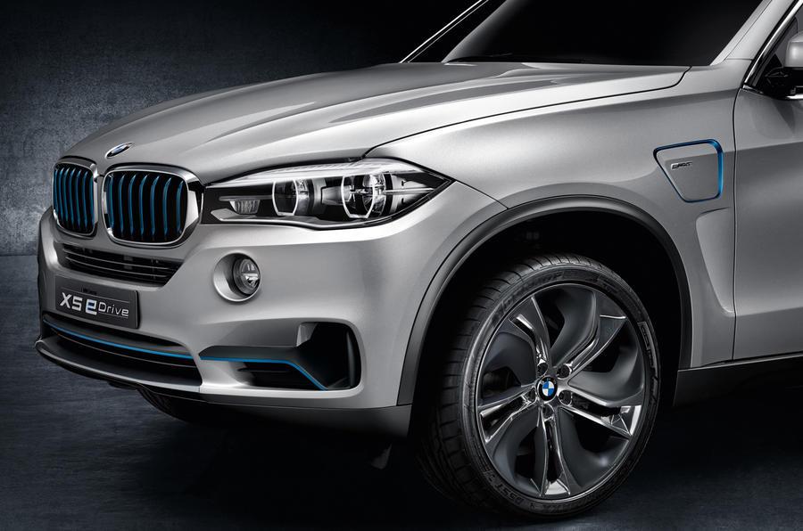BMW Concept X5 eDrive unveiled