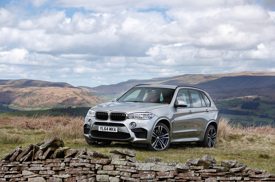 4 star BMW X5 M SUV