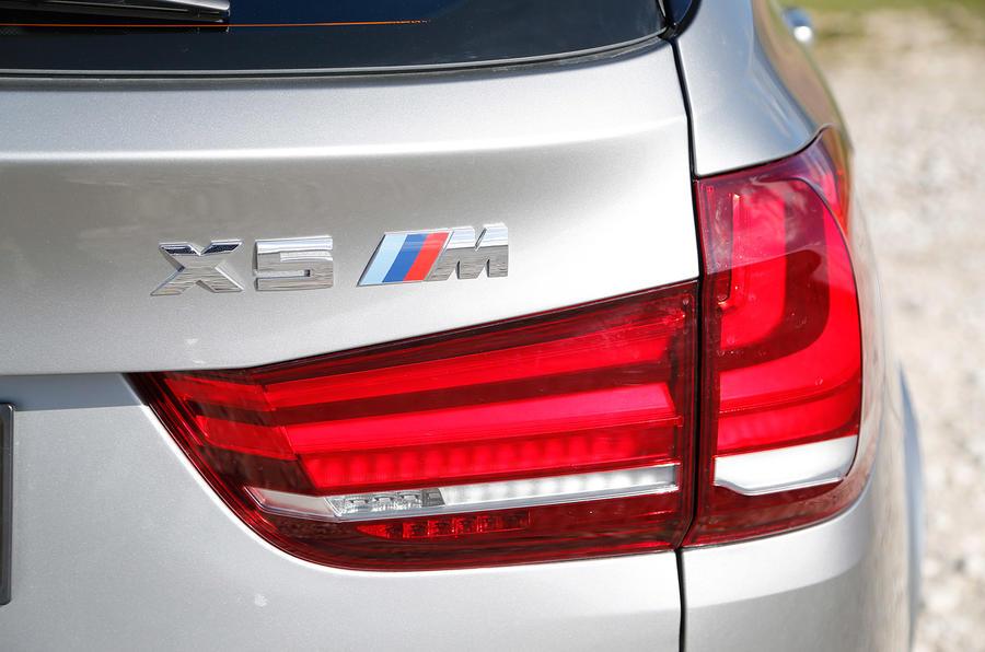 BMW X5 M's rear lights