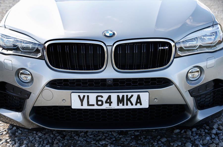 BMW X5 M's front grille