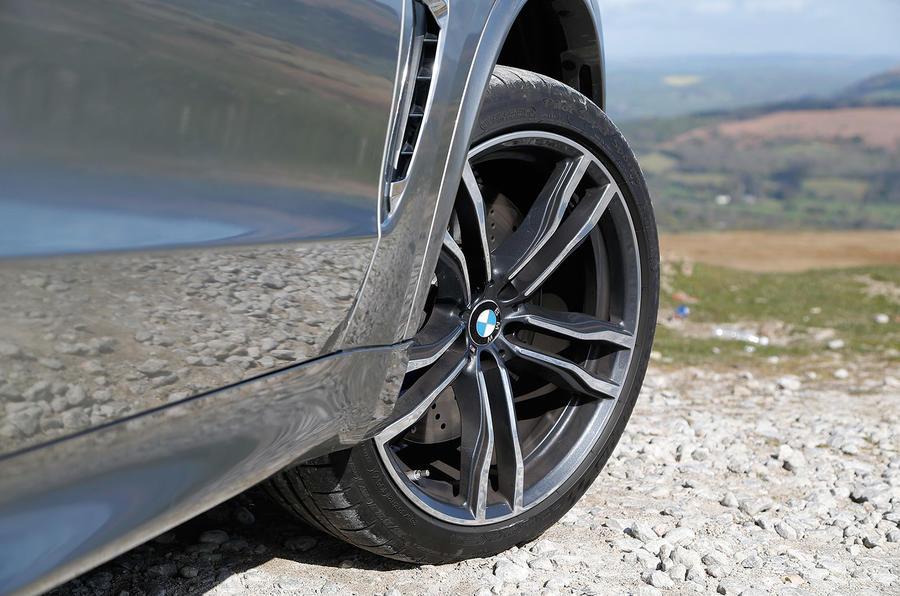21in BMW X5 M alloys