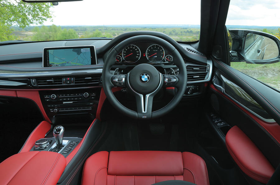 BMW X5 Ms Interior