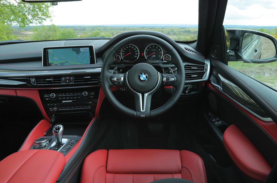 BMW X5 M's interior