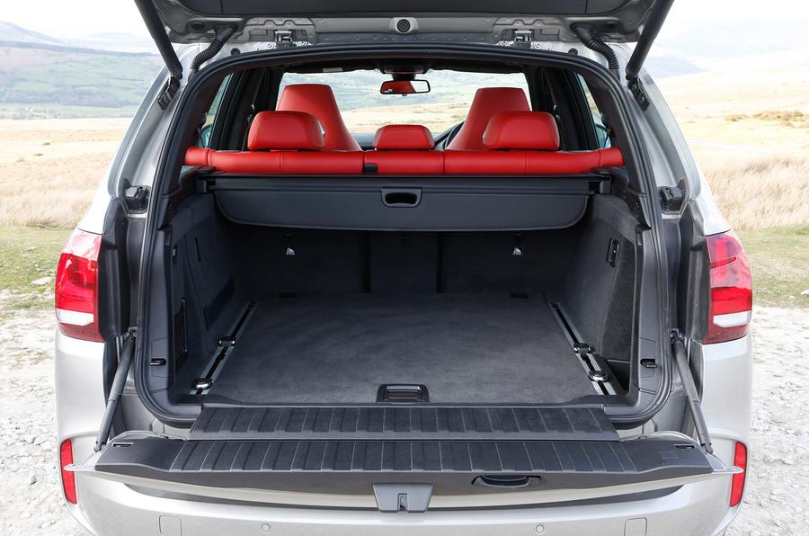 BMW X5 M's boot space