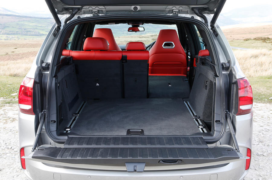 BMW X5 M's flexible seating