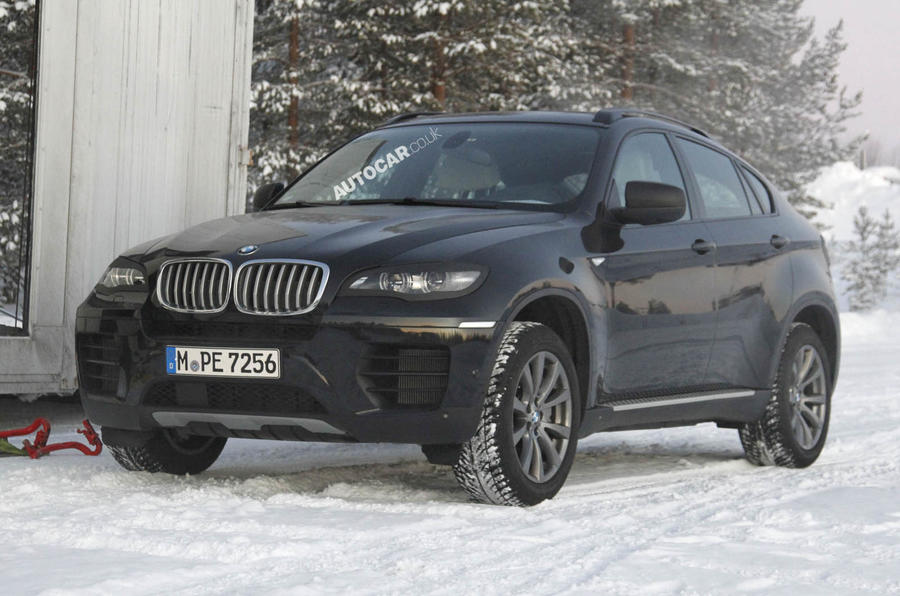 Revised BMW X6 scooped