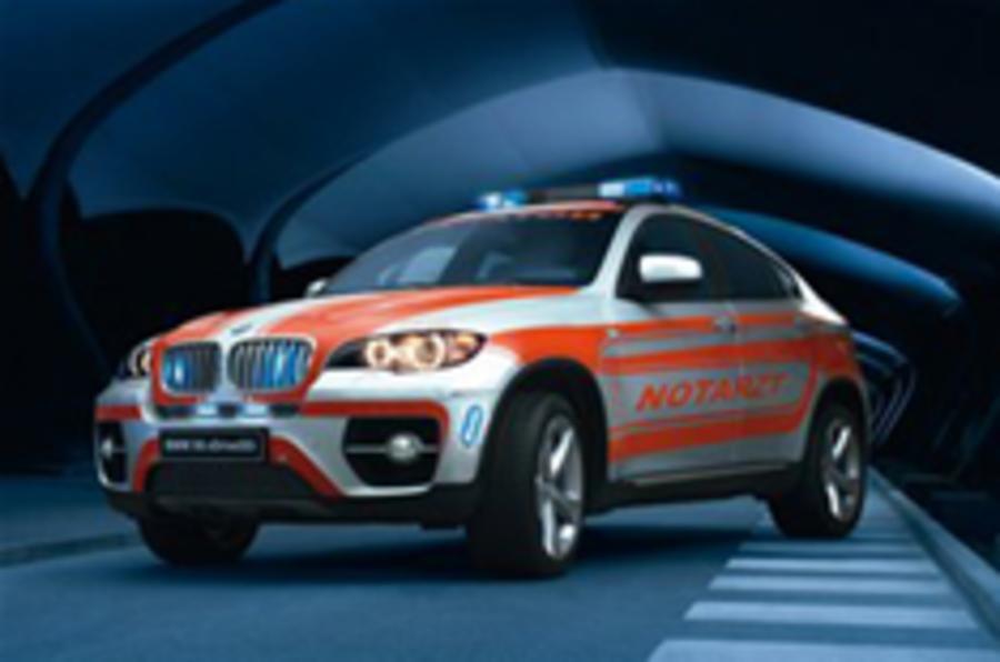 BMW X6 ambulance concept