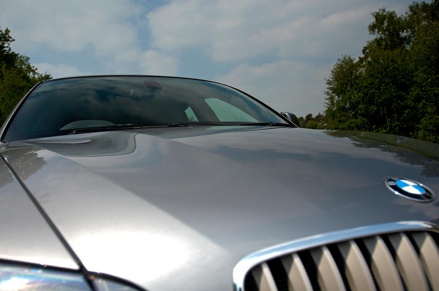BMW X6's swaged bonnet lines