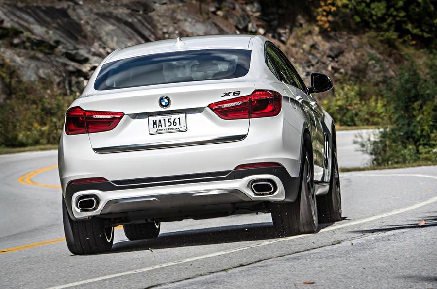 BMW X6 xDrive50i rear