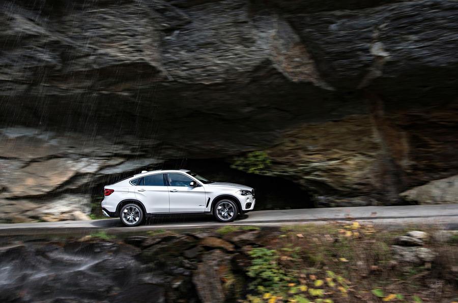 2170kg BMW X6 xDrive50i