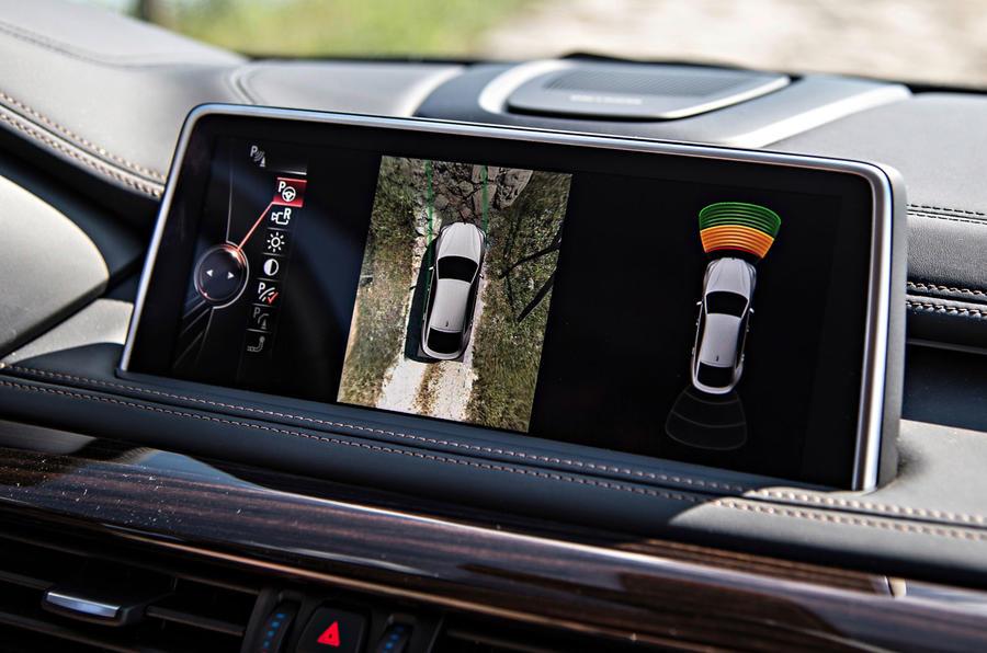 BMW X6 xDrive50i surround camera
