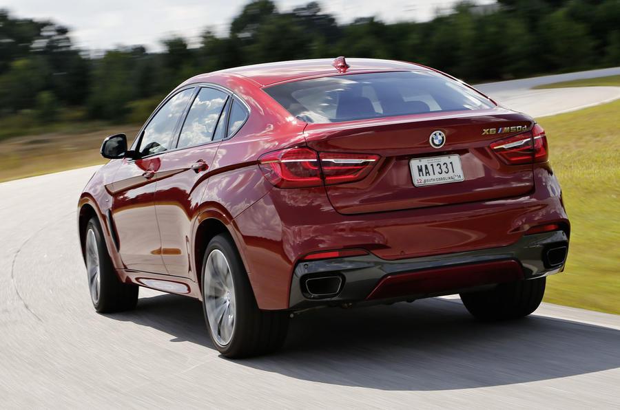 BMW X6 M50d rear