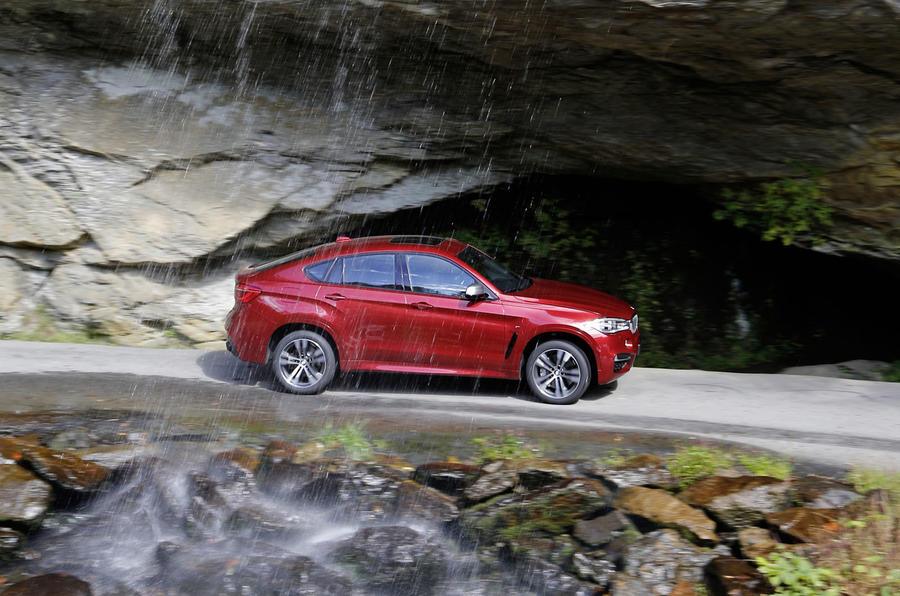 £66,915 BMW X6 M50d
