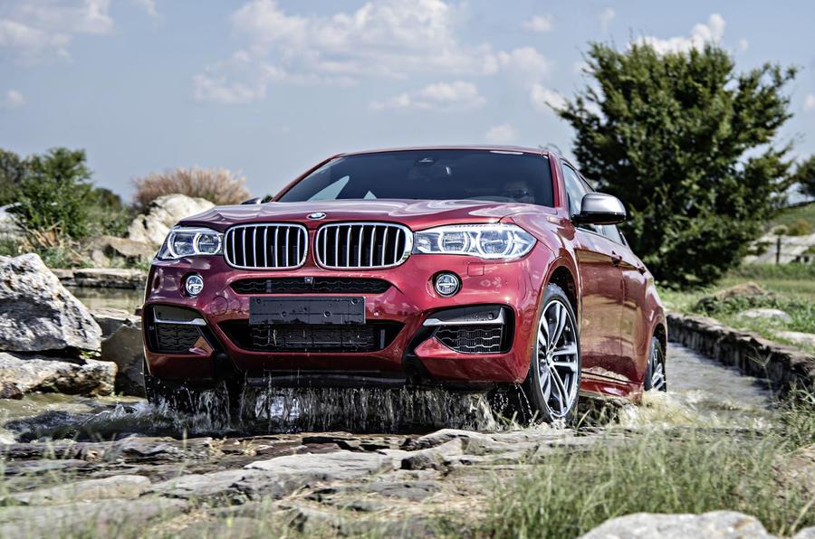 4 star BMW X6 M50d