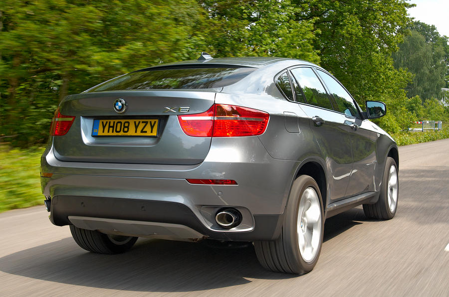 BMW X6 rear quarter