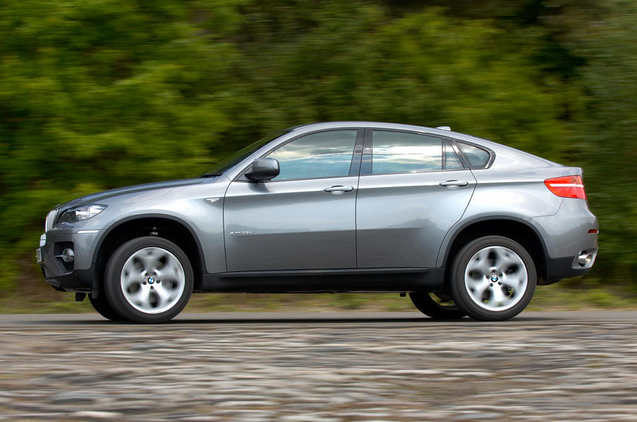 BMW X6 side profile
