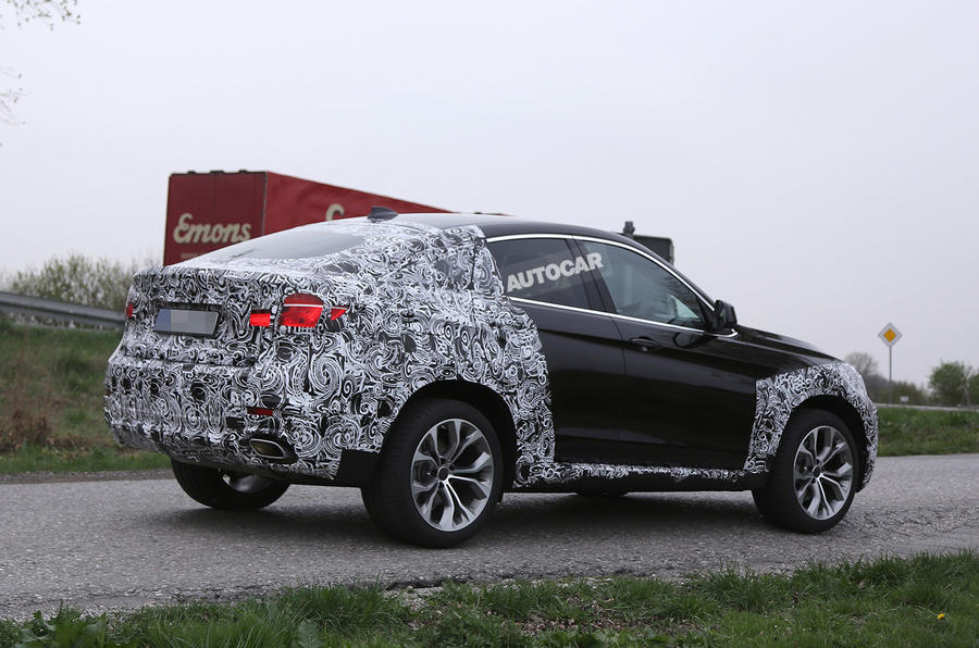 New BMW X6 nears year-end launch