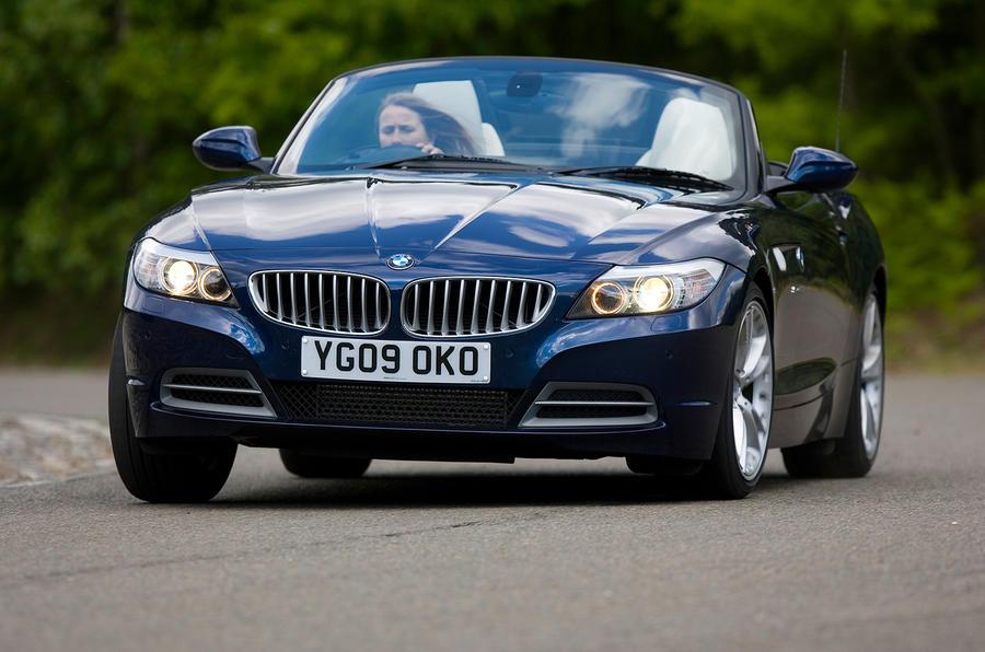 BMW Z4 cornering