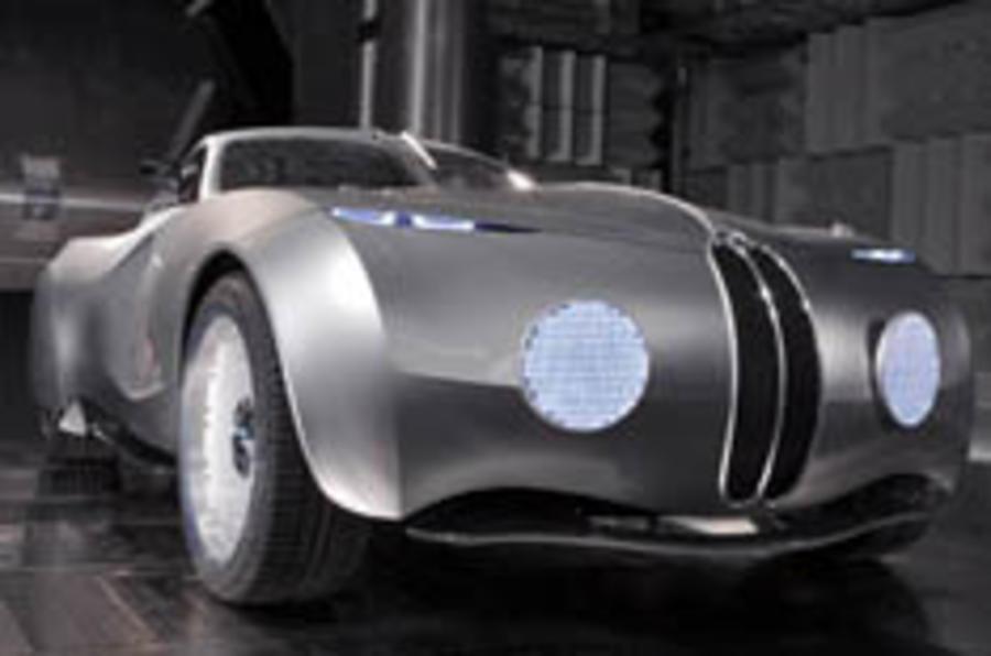 BMW unveils Mille Miglia concept