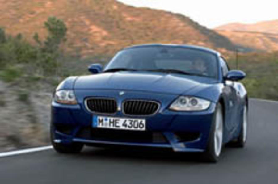 BMW guns for Cayman with Z4 Coupé