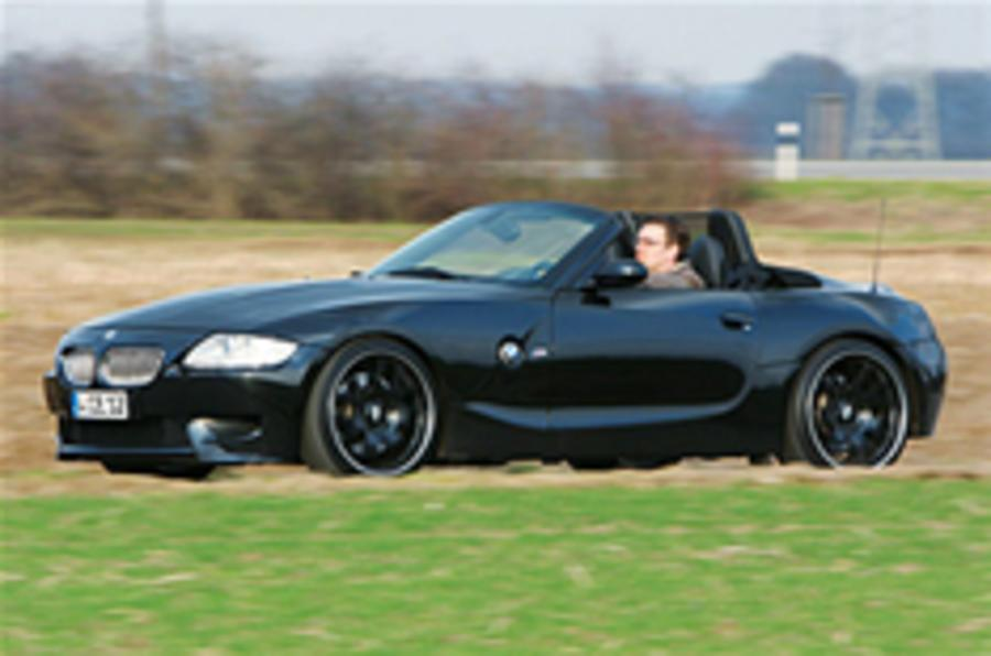 V10-powered BMW Z4