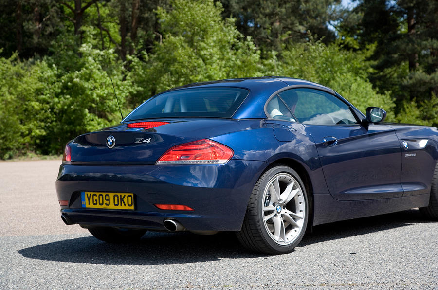 BMW Z4 roof up