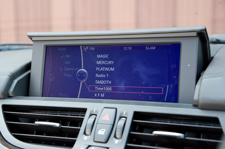 BMW's iDrive infotainment system