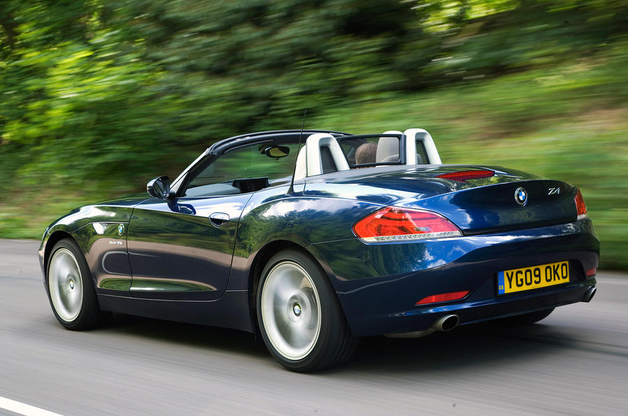 BMW Z4 rear quarter