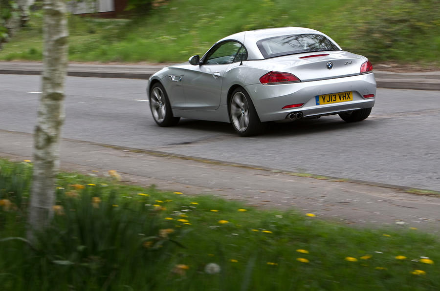 BMW Z4 sDrive18i first drive review