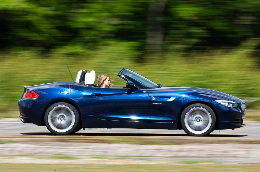 BMW Z4 side profile