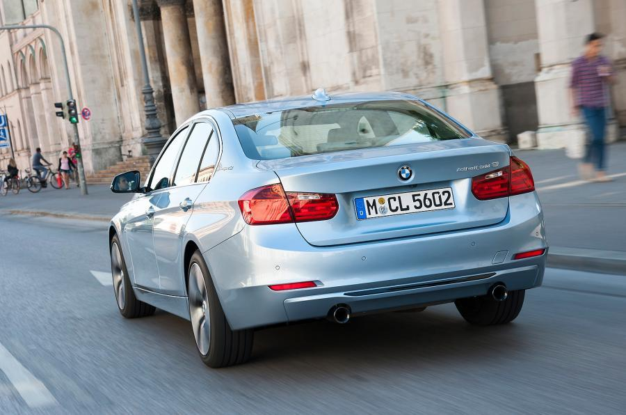 BMW ActiveHybrid 3 SE rear