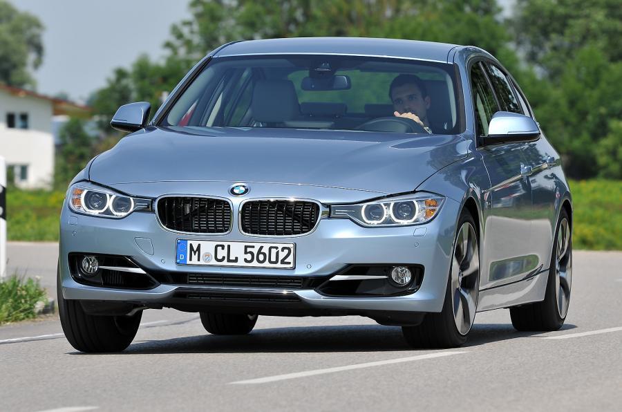 BMW ActiveHybrid 3 cornering