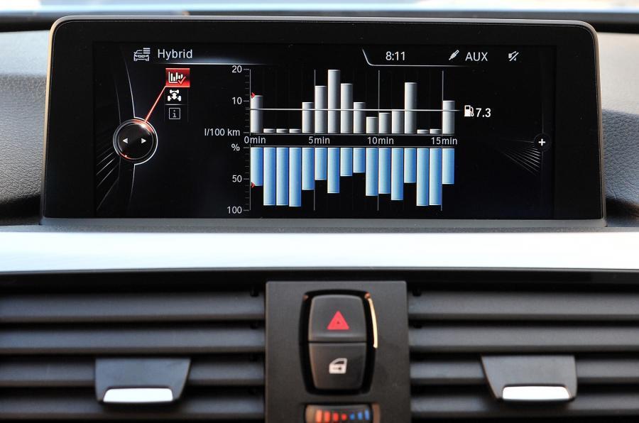BMW ActiveHybrid 3's iDrive infotainment
