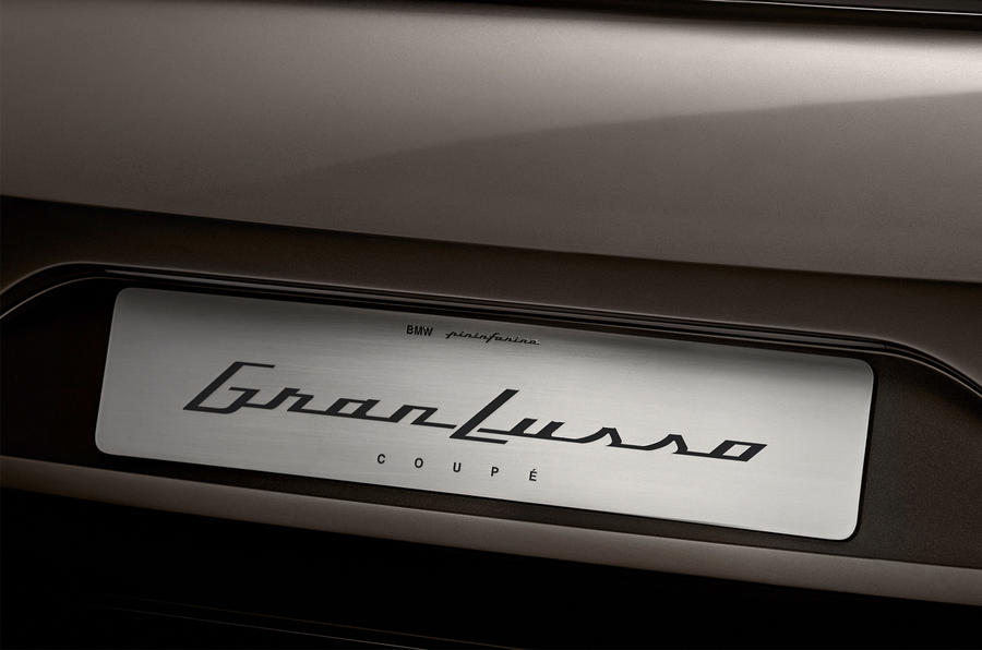 BMW teases Pininfarina Grand Lusso Coupé