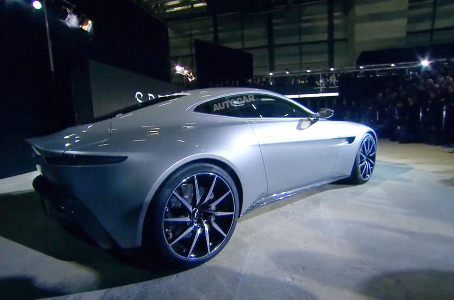 ... New Aston Martin DB10 Is James Bondu0026#039;s New Car For 2015 Spectre ...