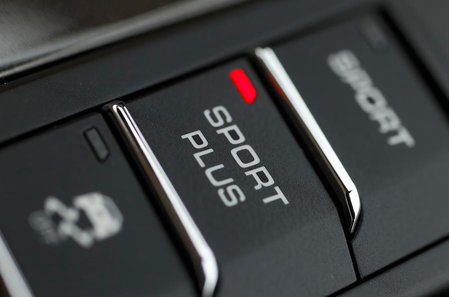 Porsche Boxster S dynamic modes