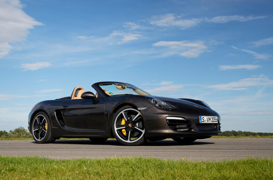 Porsche Boxster S Sport Chassis roof down