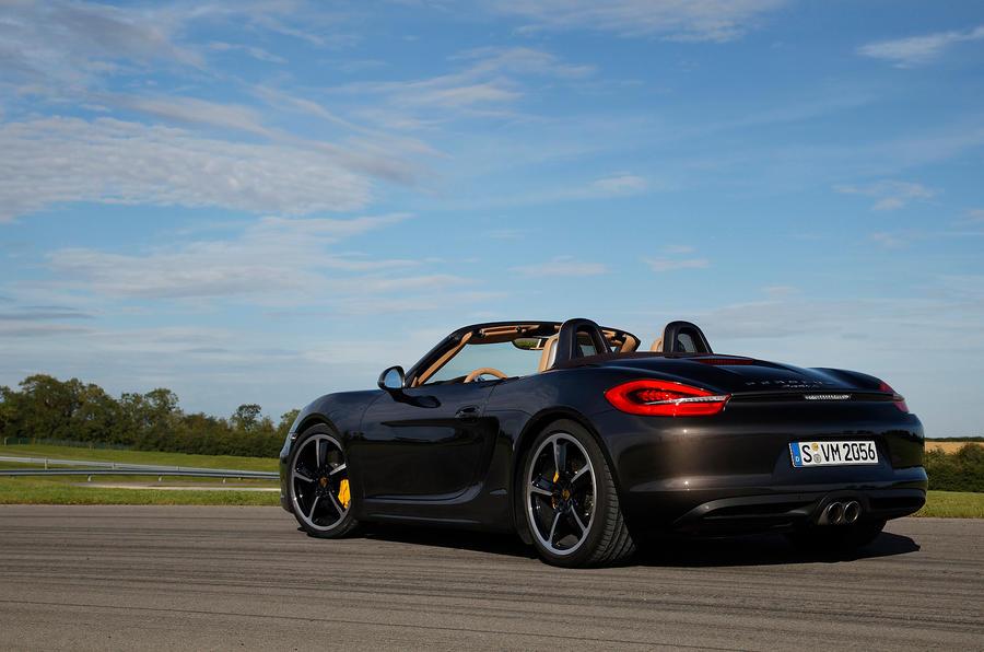 Porsche Boxster S Sport Chassis rear quarter