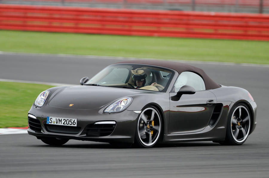 Porsche Boxster S Sport Chassis hard cornering