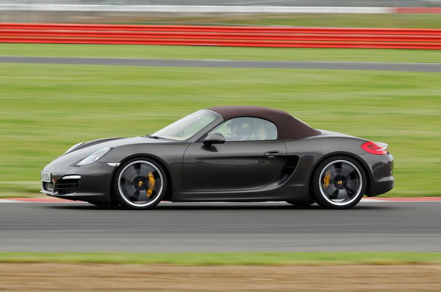 Porsche Boxster S Sport Chassis side profile
