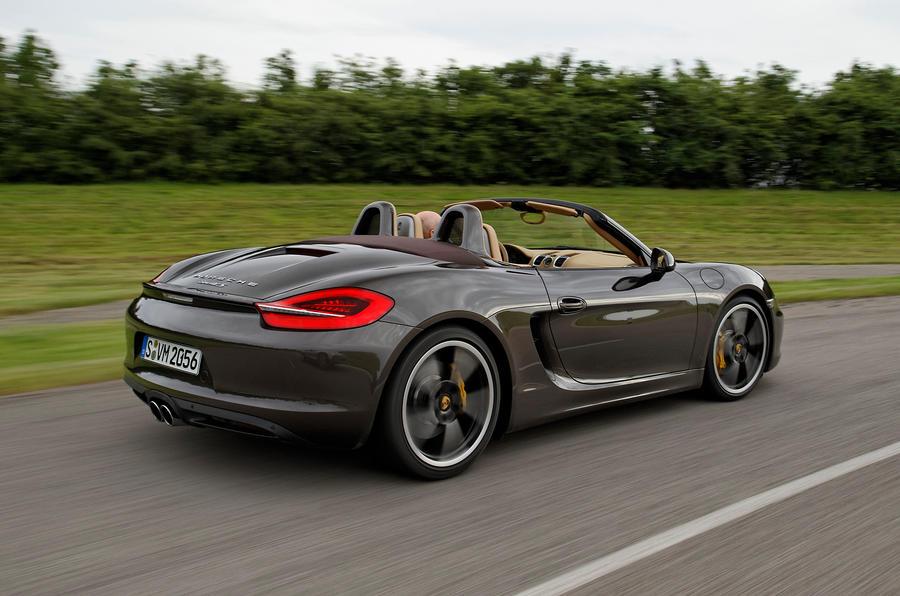 Porsche Boxster S Sport Chassis rear