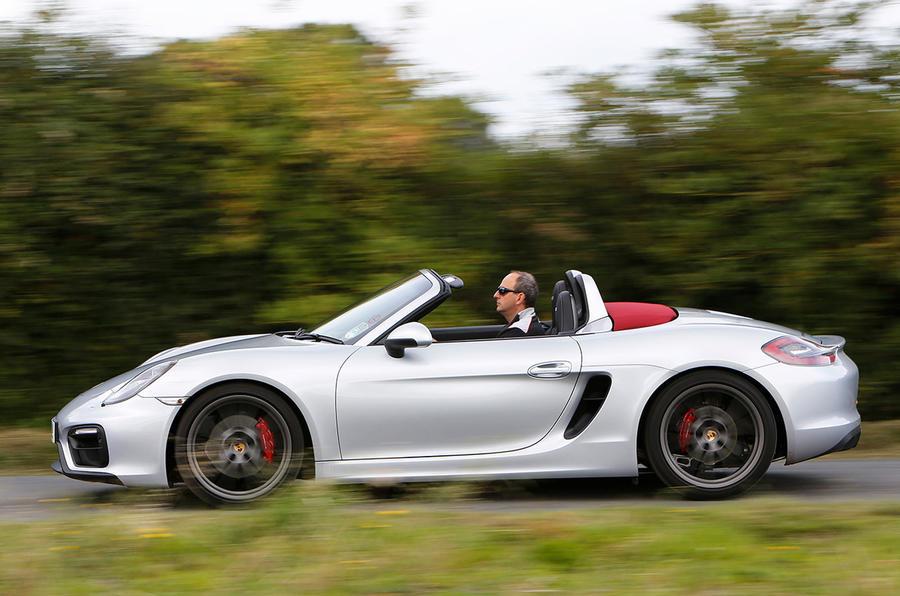 £53,872 Porsche Boxster GTS