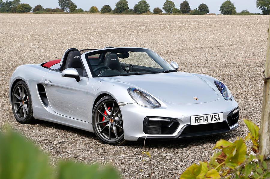 5 star Porsche Boxster GTS