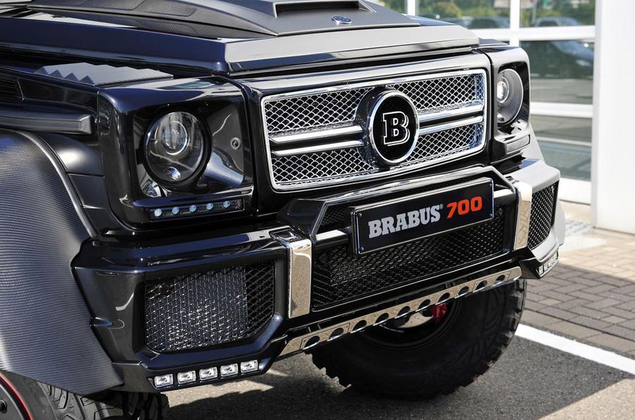 Brabus B63S-700 6x6 unveiled
