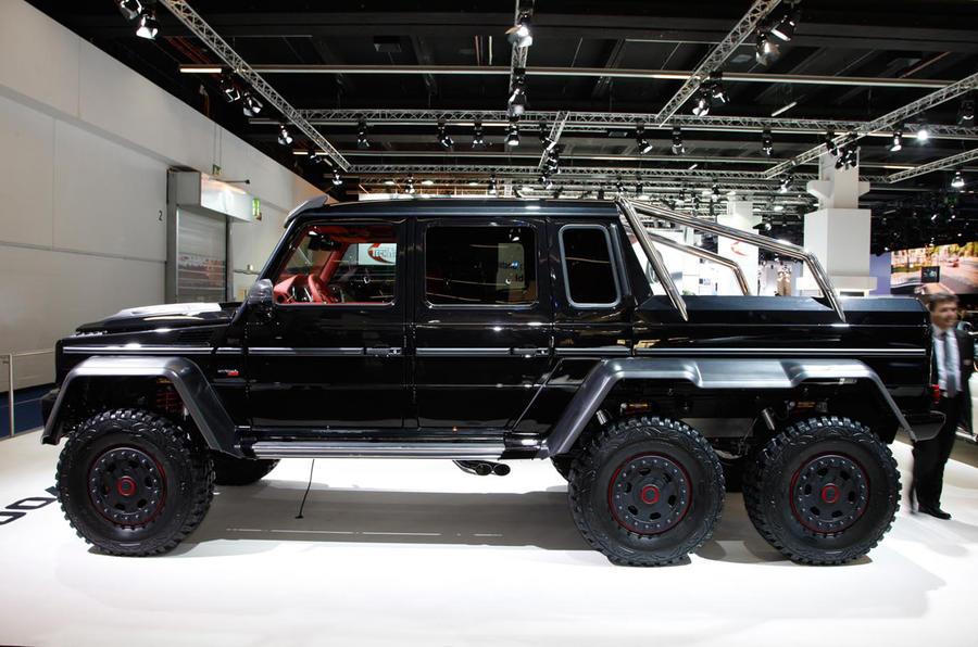 Six-wheeled 691bhp Brabus unveiled