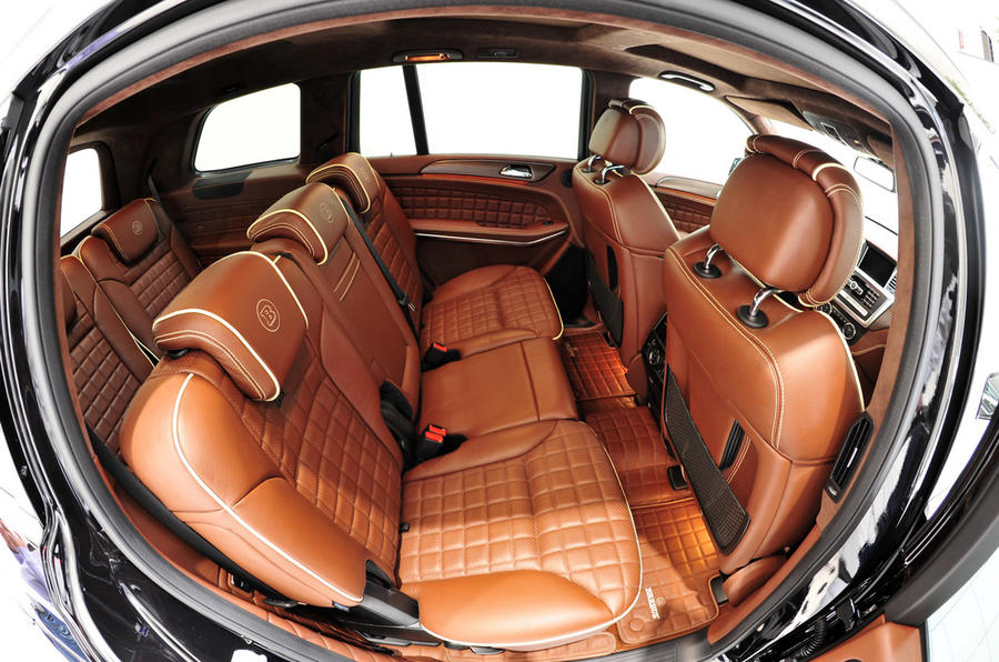 Brabus reveals 611bhp Mercedes GL63 AMG  Autocar