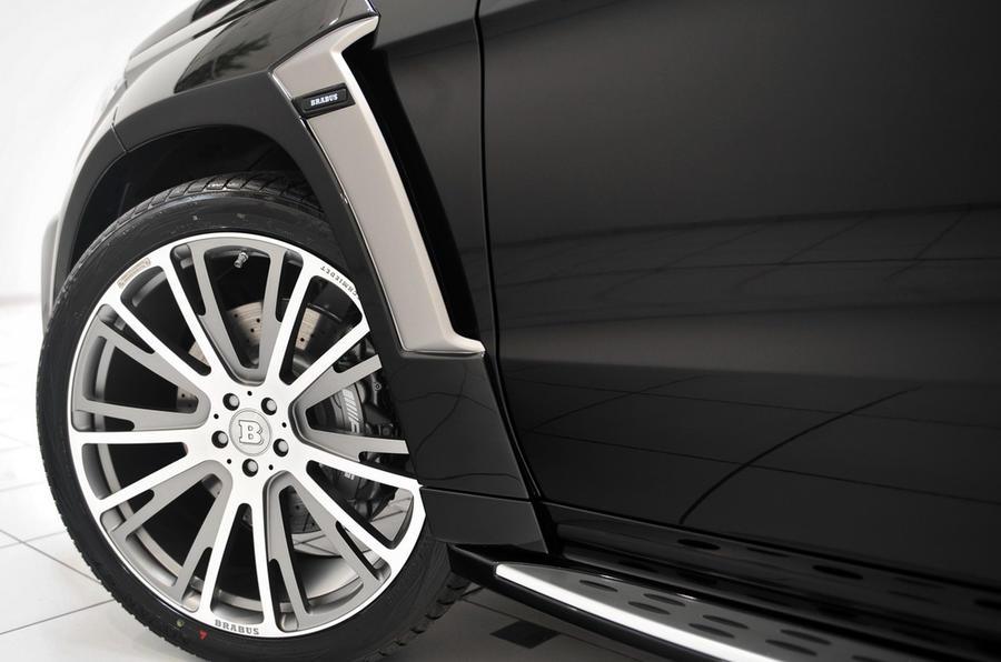 Brabus reveals 611bhp Mercedes GL63 AMG