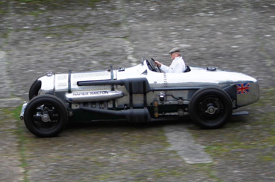 The history of the Brooklands motor racing circuit