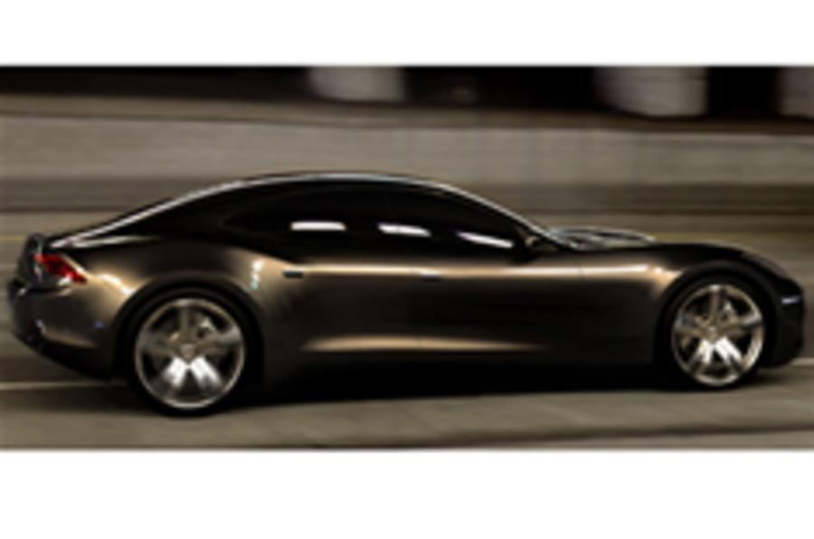Fisker hybrid: first pictures